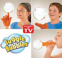 Набор мыльных пузырей Джангл Баблс, мыльные пузыри Juggle Bubbles, фото 1