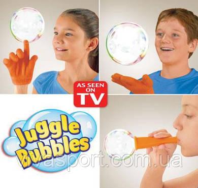 Набор мыльных пузырей Джангл Баблс, мыльные пузыри Juggle Bubbles
