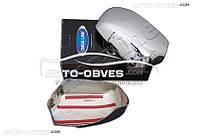 Хромированные накладки на зеркала для Форд Фюжн, ABS пластик // выбор производителя