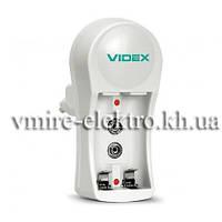 Зарядное устройство Videx VCH-N201 2шт AA/AAA 1шт 9v, фото 1