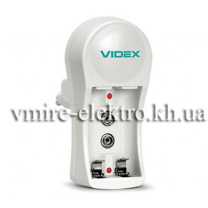 Зарядное устройство Videx VCH-N201 2шт AA/AAA 1шт 9v