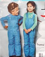Классные лыжные брюки от бренда  Impidimpi размер на рост 74-80 см