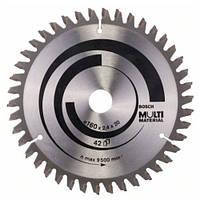 Пильный диск Bosch Multi Material 160x20/16x2,4 мм 42 зубьев