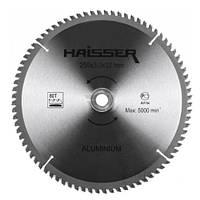 Диск пильный по алюминию Haisser 250x30мм 80 зубьев