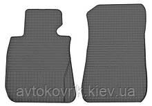 Резиновые передние коврики в салон BMW 3 (E92) 2006-2011 (STINGRAY)