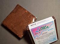 Полимерная глина Lema Metallic, №0312 коричневый металлик, 64 г