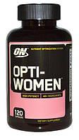 Optimum Nutrition, Opti-women, Система оптимизации питательных веществ, 120капсул