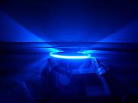 LED ПАНЕЛЬ 12w+4W с синей подсветкой 4500K КРУГ LEMANSO LM497
