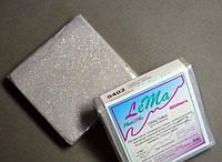 Полимерная глина Lema Glitters, №0402 серебро глиттер, 64 г