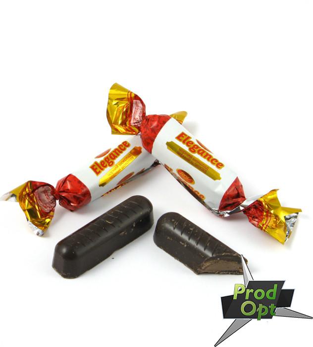Цукерки глазуровані вагові LORD Elegance чорний шоколад 3 кг