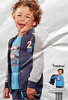 Комплект толстовка и реглан для мальчика набор рост 86 - 92