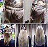 Трессы Накладные волосы Волосы на клипсах зажимах. Изготовление и продажа париков, фото 2
