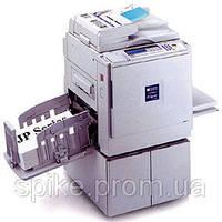 Ricoh JP 4500  цифровой дубликатор, 1387 т. Копий, 3836 мастеров, 1 полоса