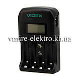 Зарядний пристрій Videx VCH-ND400 4х АА/ААА 1х крона 9V, фото 2
