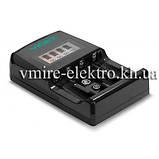 Зарядний пристрій Videx VCH-ND400 4х АА/ААА 1х крона 9V, фото 3