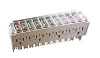 Магазин защиты 2/10 для 10-парных плинтов LSA-PLUS / PROFIL с 3-полюс. газоразрядниками (аналог 6089 2 023-08)