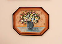 Картина в подарок «Букетик ромашек».