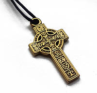 """Амулет """"Кельтський Хрест"""", В комплекті шнурок довжиною 70 см, метал"""