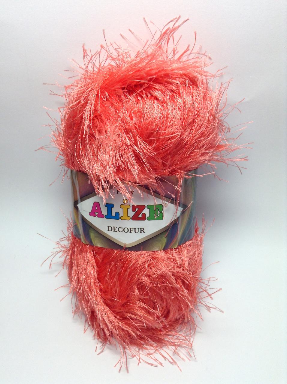 Пряжа decofur Alize (травичка)