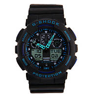 CASIO G-Shock GA-100 Black - Blue