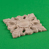 Для мебели.Розетка мебельная деревянная. Код Р8