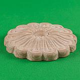 Резной декор из дерева для мебели. Розетка круглая. Код Р13, фото 2