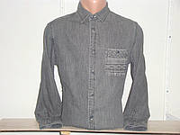 Мужская джинсовая рубашка с длинным рукавом Mossimo