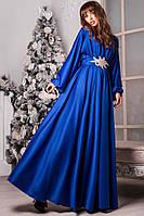 Вечернее роскошное платье с украшением 096 (0557)