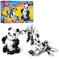 Детский конструктор-робот 3 в 1 Панда