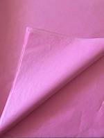 Тишью бумага, 50*70 см +упаковочная, цвет розовый