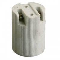 Патрон e14 (патрон для лампы e14) керамический белый,Watc