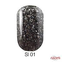 Naomi Self Illuminated гель лак, 6 мл, № SI 01