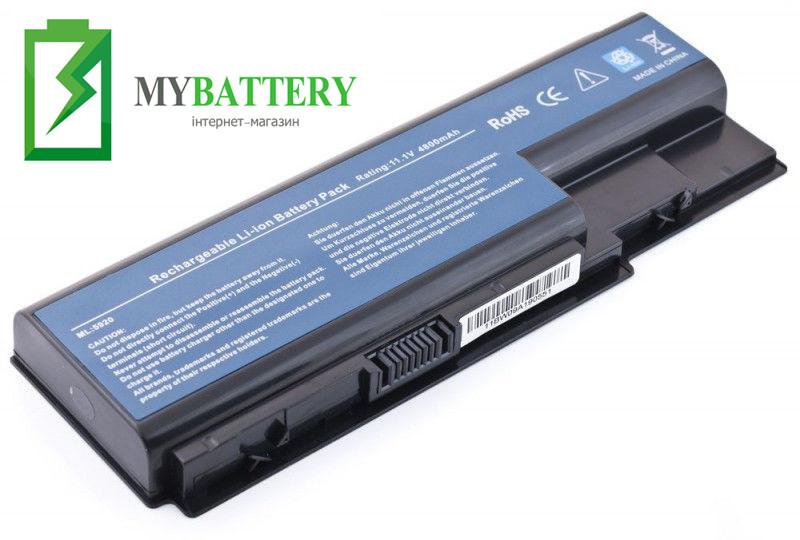 Аккумуляторная батарея Acer AS07B32 5520 5720 5920 6920 6920G 7520 7720
