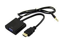 Перехідник HDMI to VGA з аудіо виходом для Raspberry Pi