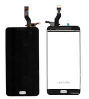 Дисплей + сенсор Meizu M3 Note L681H (ver.TTCT0553511001) чорний