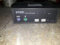 KVM коммутатор Planet KVM-200
