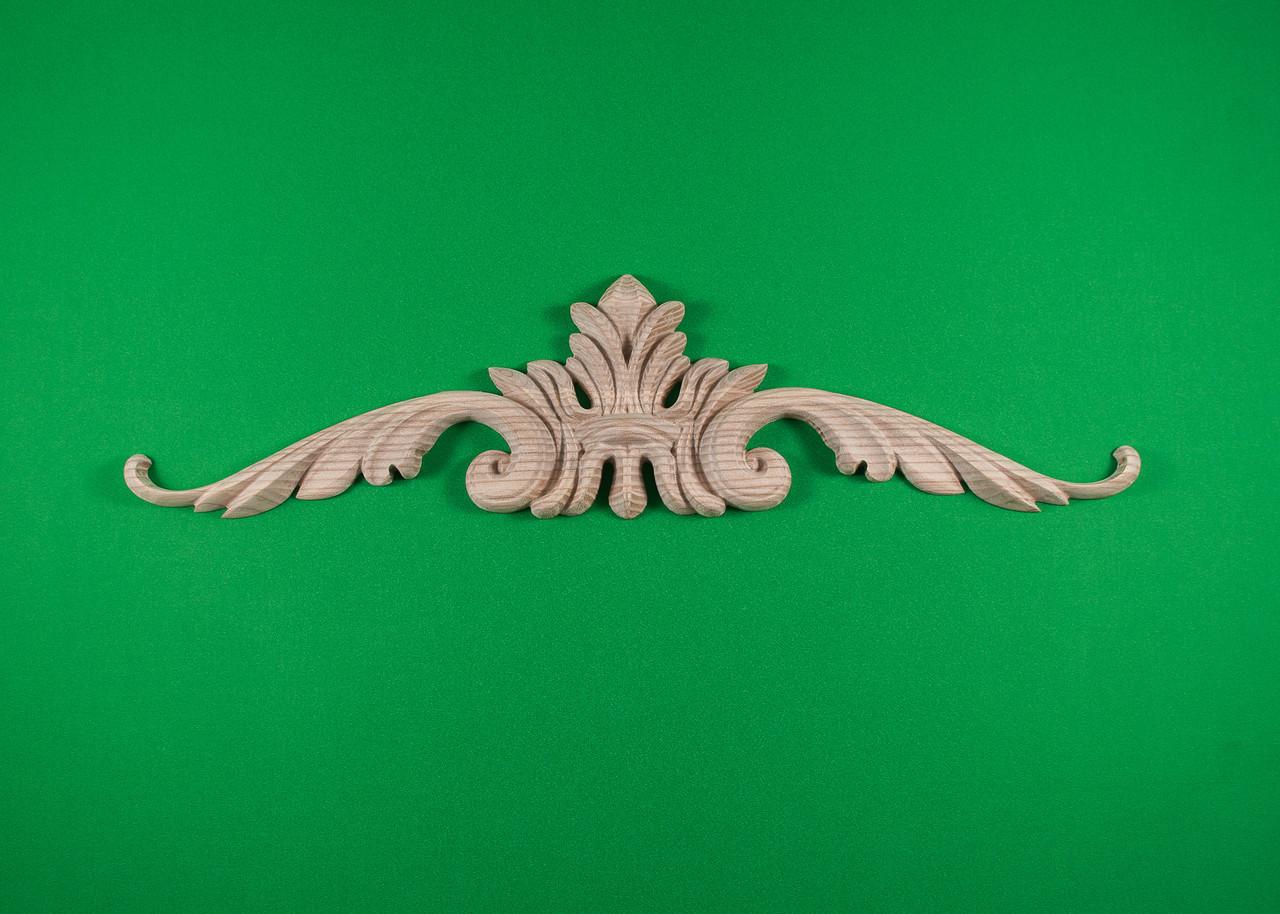 Код ДГ8.Деревянный резной декор для мебели. Декор горизонтальный