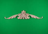 Код ДГ8.Деревянный резной декор для мебели. Декор горизонтальный, фото 1