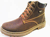 Ботинки комфорт коричневый