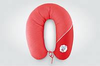 Подушка для кормления стандарт Горох красная
