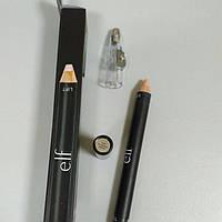 E.L.F. Cosmetics, Двусторонний карандаш для бровей, цвет слоновая кость / средний, 1,95 г/2,5 г