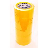 Скотч цветной СONTUR 150м желтый 6шт/уп