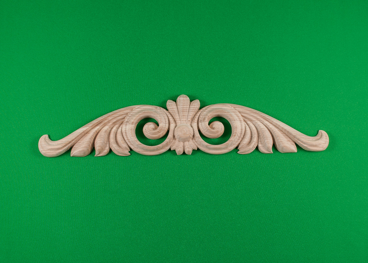 Код ДГ13.Деревянный резной декор для мебели. Декор горизонтальный