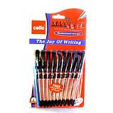 Ручка кулькова Cello Maxriter 056/727 чорна, фото 2