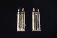Зажигалка газовая пуля двойная + фонарик