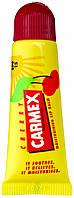 Carmex Lip Balm Tube SPF 15 Cherry - Восстанавливающий и лечебный бальзам для губ (Вишня), 10 г