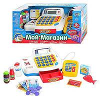 Кассовый аппарат 7020-UA, интерактивная касса, 16 предметов, свет, звук на украинском языке, на батарейках