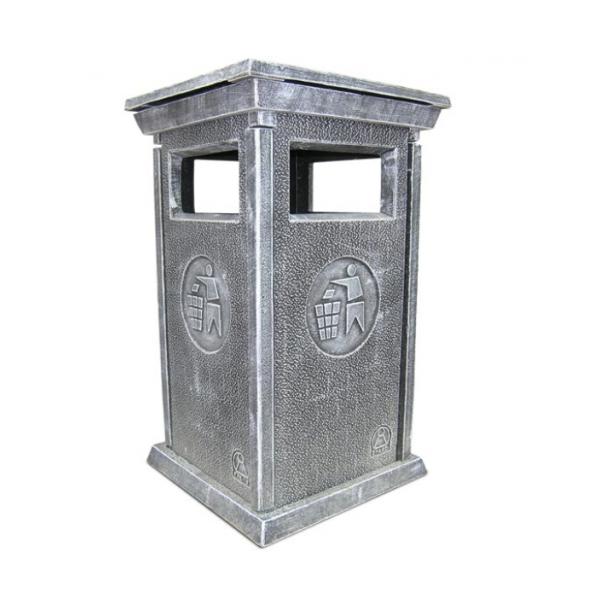 Урна для мусора «№4» из бетона