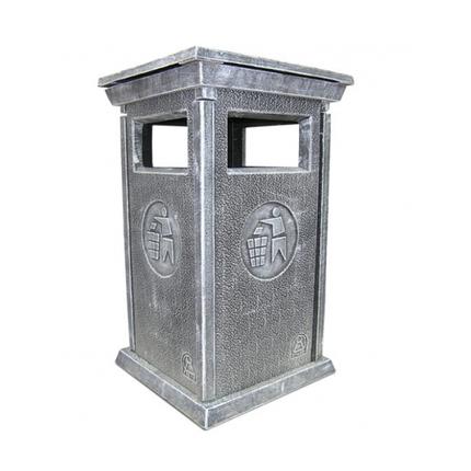 Урна для мусора «№4» из бетона, фото 2