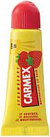 Carmex Lip Balm Tube SPF 15 Strawberry - Восстанавливающий и лечебный бальзам для губ (Клубника), 10 г